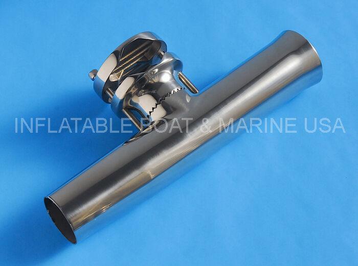 Fishing Rod Rod Rod Holder Clamp-On Adjustable 1 1 4 , 1 1 2 , 2 - 316 Stainless Steel 881384