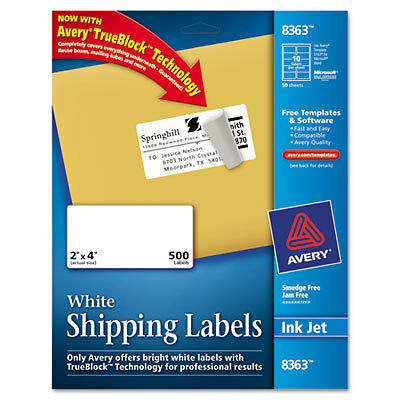 Avery Dennison 8363 Shipping Label for sale online