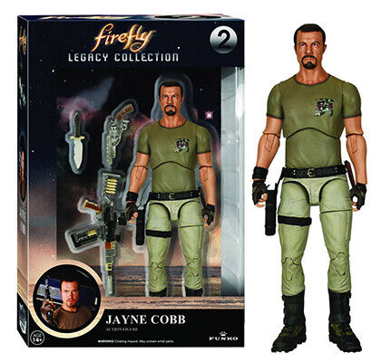 Firefly 7 Inch Action Figure Legacy Series - Jaybe Cobb