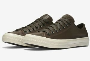 c5642b565a93 NEW CONVERSE X JOHN VARVATOS CHUCK II 2 LEATHER LOW TOP LUNARLON ...