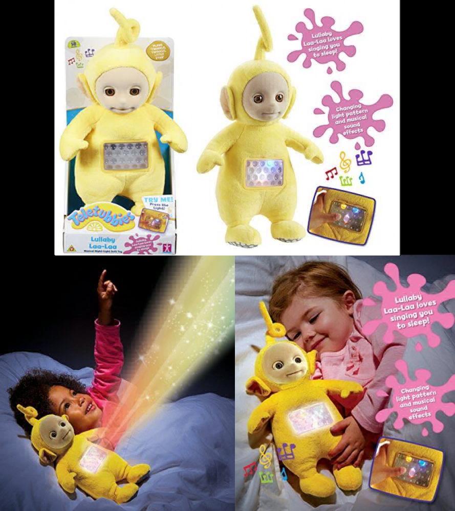 Teletubbies Lullaby Laa-Laa Soft Toy (Gelb) UK POST FREE