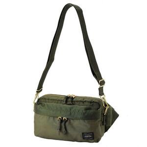73246e1c92dc8 Yoshida Bag PORTER / PORTER FORCE 2WAY WAIST BAG 855-07501 OLIVEDRAB ...