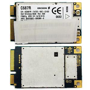 For-Dell-Wireless-5530-HSPA-3G-GPS-Mini-Card-WWAN-Ericsson-F3507G-E6500-E6400