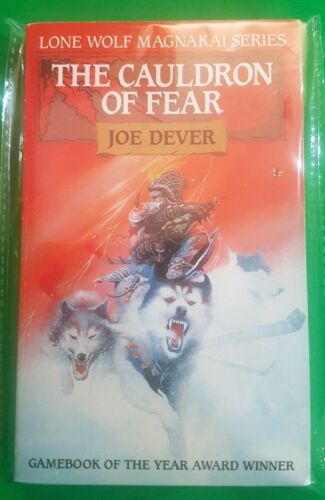 1 of 1 - The Cauldron of Fear ***MINT UNREAD RED FOX!!*** Joe Dever Lone Wolf #9 Beaver