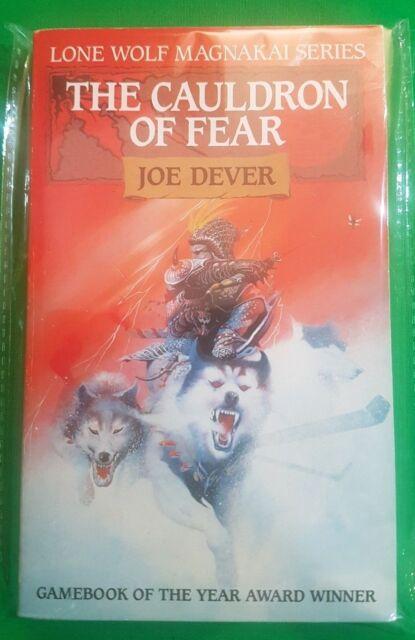 The Cauldron of Fear ***MINT UNREAD RED FOX!!*** Joe Dever Lone Wolf #9 Beaver