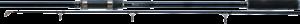 K-KARP PHOENIX ELITE  12'  3.60m 3.5lbs Carbon Carp Rod on 2pcs.  offering store