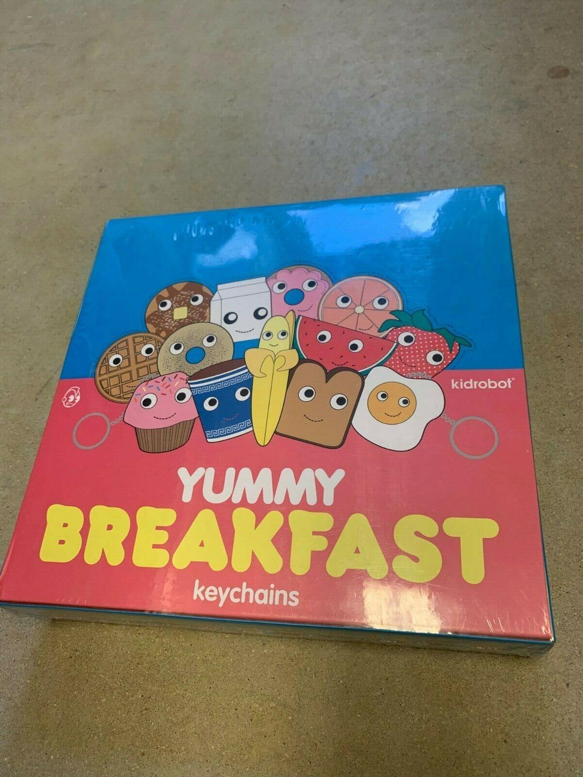 Yummy Breakfast keychain blind box - Kid Robot