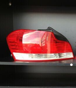 BMW-Genuine-E82-E88-1-Series-Coupe-LEFT-Tail-Light-To-03-2011-Non-Xenon-USED
