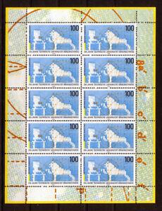 10-x-Bund-1783-postfrisch-KB-Kleinbogen-Zehnerbogen-10er-Bogen-BRD-1995