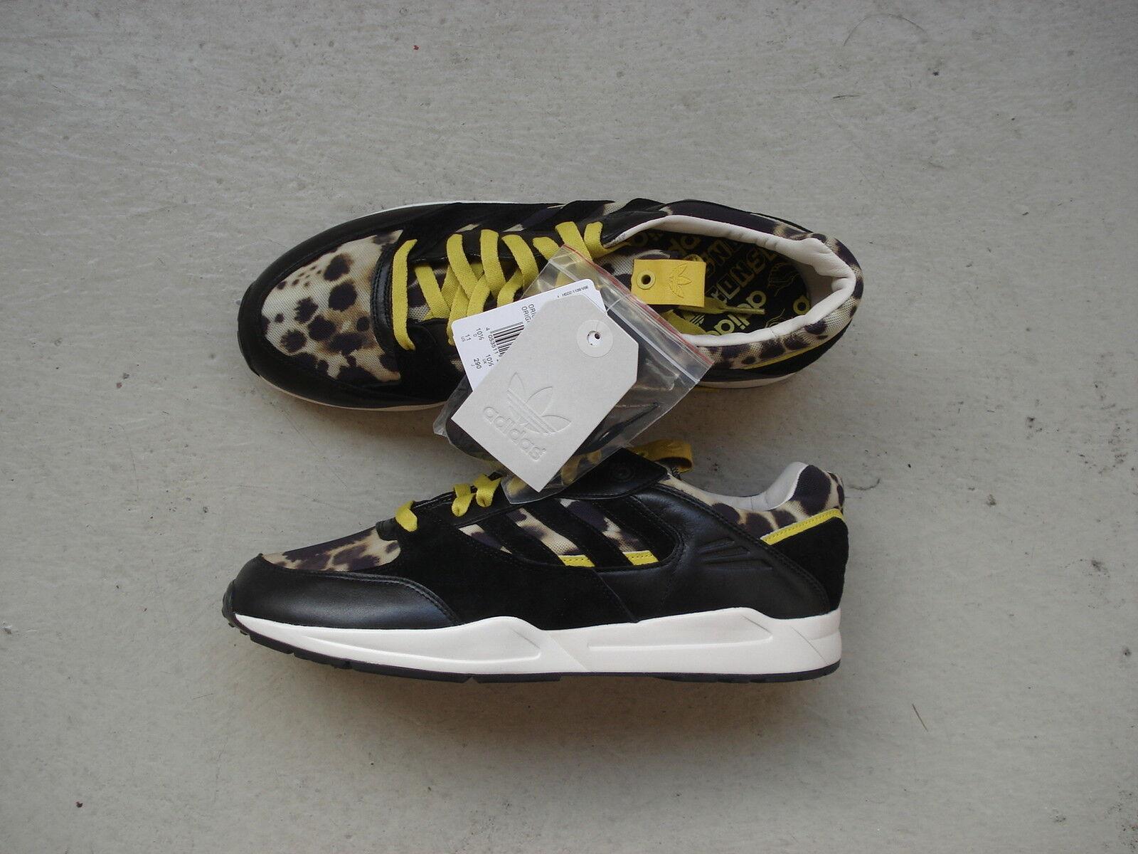 Adidas Tech Super 45 1 3 WCAP Consortium Originals Black1 Chalk2 Super Yellow