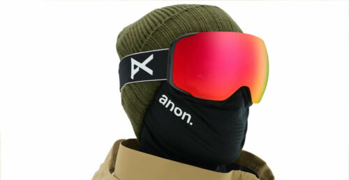 ANON M2 MFI Goggles NEW Spherical Lens Bonus Lens Included MFI Facemask
