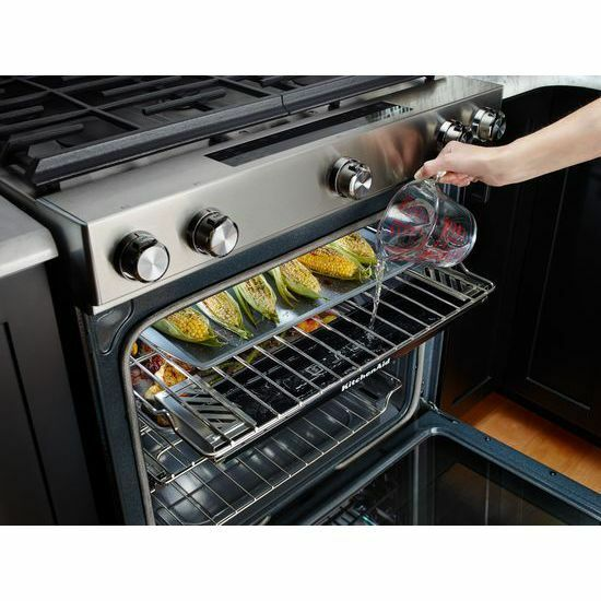 KitchenAid Range Steam Reservoir Oven Rack W10686408 30 Inch | EBay