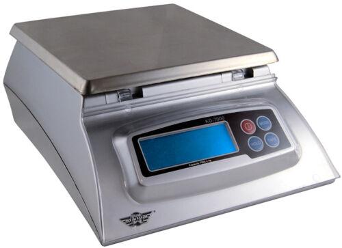 1g MyWeigh KD7000 Briefwaage 7kg Digitale Küchenwaage silber Digitalwaage 7kg