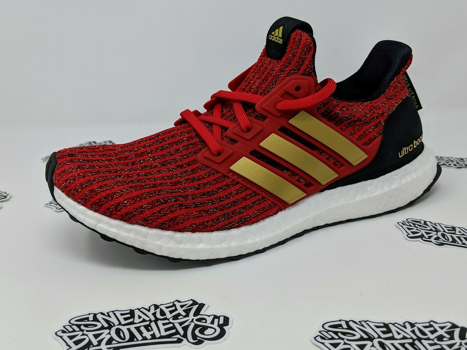 Adidas Ultra Boost W Womens x GOT Game of Thrones House Lannnister Red EE3710
