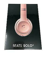 Beats by Dr Dre Solo3 Wireless On-Ear Headphones - Rose Gold-BRAND NEW