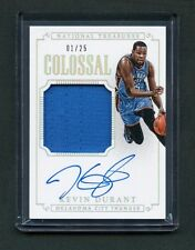 2014 Kevin Durant National Treasures Colossal Patch Auto 1/25 (1st Card)