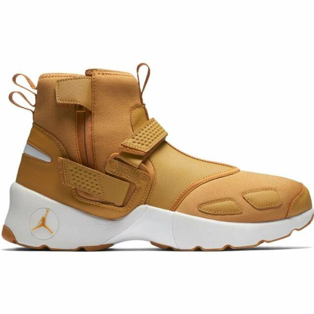 5123835e34d0a Nike Air Jordan Trunner LX High Men's Shoes Wheat Golden Harvest AA1347-725