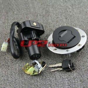 Details about Ignition Switch Fuel Gas Cap Seat Lock Key for Suzuki  GSX1300R Hayabusa 99-07