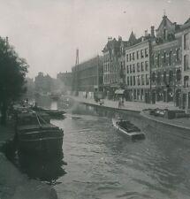 ROTTERDAM c. 1950 -  Le Canal Bateaux Hellebrekers Zone  Hollande - P1066