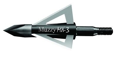 Adaptable Nuovo Muzzy 225 Mx3 3,bowhunting 100 Grana 63.5cm 3 Lama Testa Larga,1 225 Mx3 Other Archery Archery
