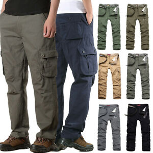 Men-039-s-Long-Camo-Military-Army-Cargo-Combat-Pants-Trousers-Casual-Tactical-Pants