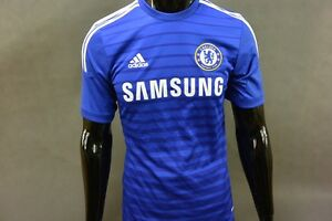 adidas CHELSEA FC HOME JERSEY 2014-15 Football Shirt SIZE S (adults ... 969d7f046