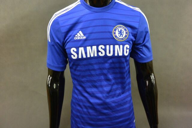 197745997f adidas CHELSEA FC HOME JERSEY 2014-15 Football Shirt SIZE S (adults)