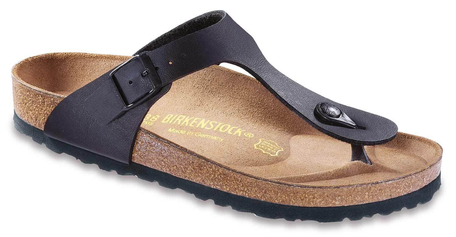 Birkenstock Gizeh casa zapatos sandalias Clogs Birko flor 043693 estrecho estrecho 043693 negro nuevo 47f97d