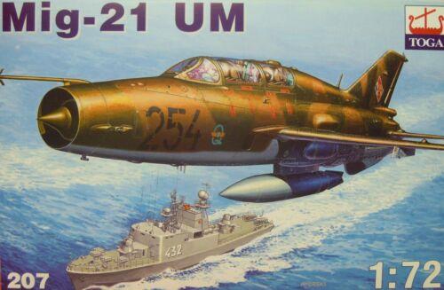Plastik MiG-21 UM Polen Toga NVA,Kroatien Neu 1:72
