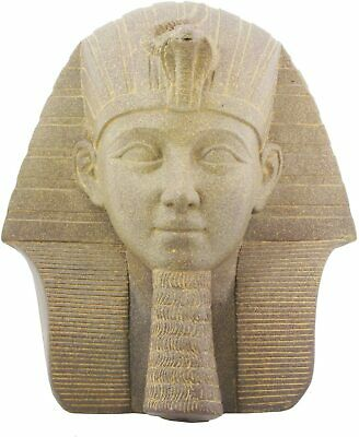 Ancient Egyptian Collectible Pharaoh Thutmose III Bust Egyptian Figurine Statue