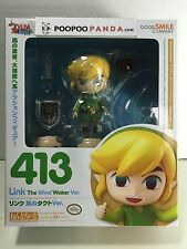 Legend of Zelda: The Wind Waker LINK Nendoroid Figure Good Smile Company 413 USA