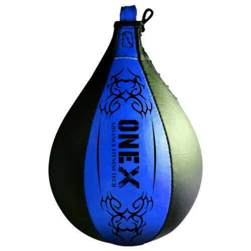 1x Speed Ball Pear Shape Single ended Boxing Punch Bag Gym Training Martial Arts
