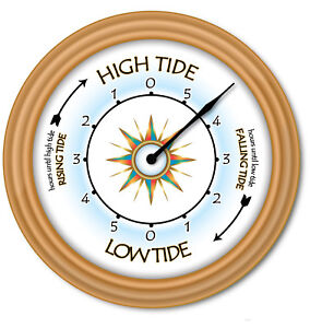 Tide-Clock-Times-Of-High-Low-Tides-Coast-Beach-Boat-Sailing-Fishing-GIFT