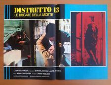 DISTRETTO 13 LE BRIGATE DELLA MORTE fotobusta poster affiche Assault on precinct