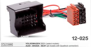 ISO-Radio-Adapter-kompatibel-VW-Golf-Passat-Polo-Touran-Touareg-Jetta-ab-2003