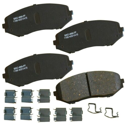 Disc Brake Pad Set-Stop Ceramic Brake Pad Front fits 06-13 Suzuki Grand Vitara