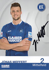 Jonas Meffert (Karlsruher SC) - 2016/2017 - Neu in Winterpause - 16/17