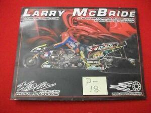 2010-LARRY-McBRIDE-TOP-FUEL-CHAMPION-amp-WORLD-RECORD-HOLDER-INFORMATION-CARD-VGC