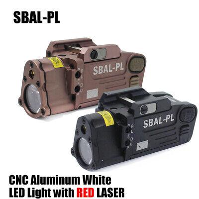 Tactical CNC Making HM SBAL-PL Dual Beam Aiming Laser Pistol Hunting Flashlight