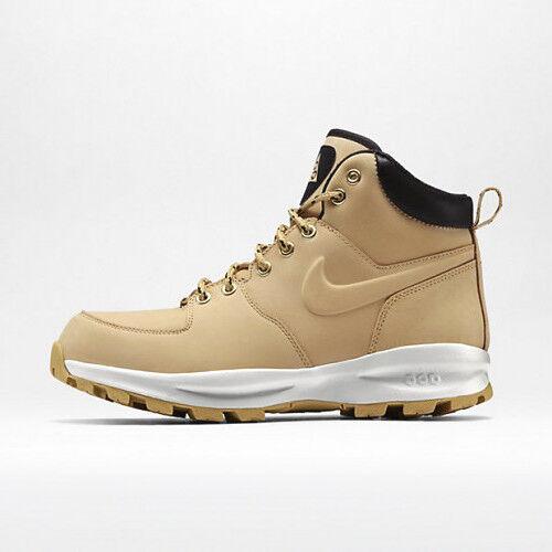 Nike manoa cuoio 454350-700 acg pagliaio 7 marrone beige boot scarpe 7 pagliaio 7,5 8 8,5 08c84a