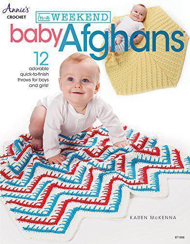 A Weekend : Bébé Afghans : 12 Adorable Quick To Finish Throws pour Garçons et