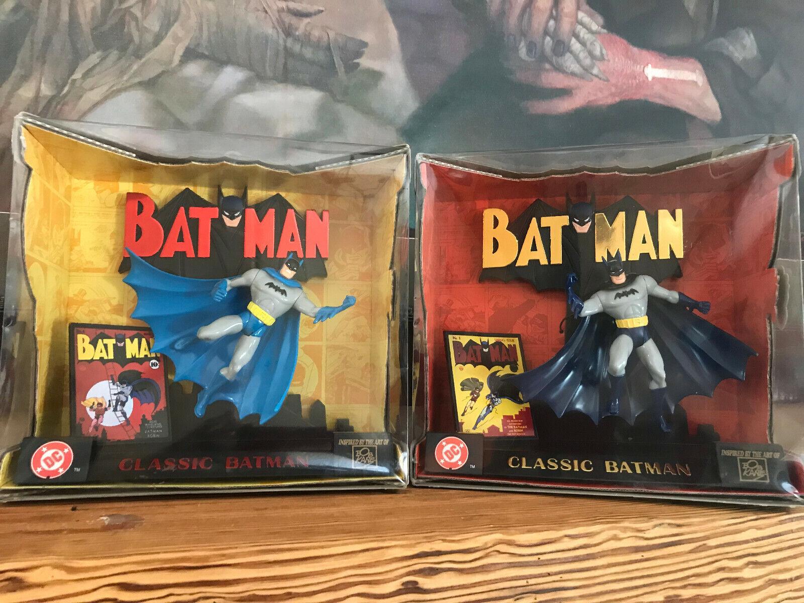 1998 Kenner Classic BATMAN Special Edition & & & 2  DC Action Figure Set NIB bffc53