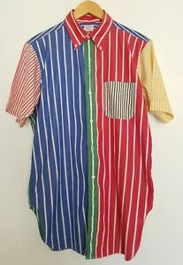 Vintage-RARE-60s-Brooks-Brothers-Makers-Rainbow-Stripe-Sanforized-Shirt-16