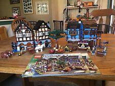 LEGO Castle Medieval Market Village 10193 100% complete