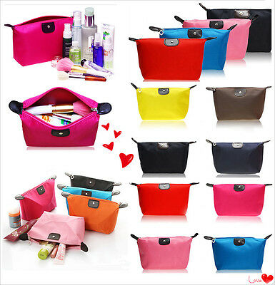 FREE Girl Travel Make Up pouch bag Clutch Handbag Casual Purses Multi-colors