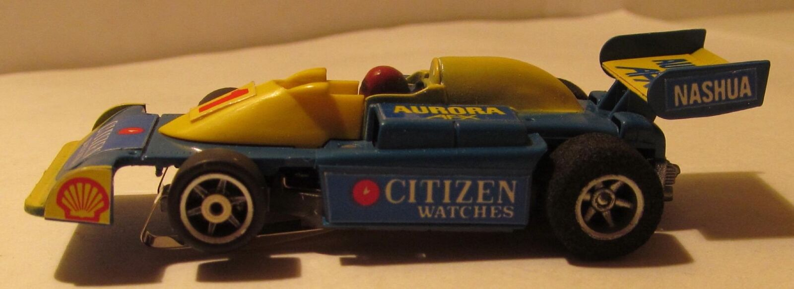 AFX G-Plus Montres Citizen FORMULE 5000 slot car,  S-040 CITIZEN WATCH F-5000