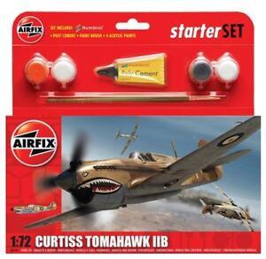 Airfix-1-72-Curtiss-Tomahawk-Iib-Raf-P-40b-Set-Basico-A55101