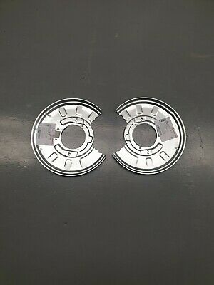 BMW X3 REAR BRAKE BACKING PLATE DISC SHIELD SET LEFT AND RIGHT