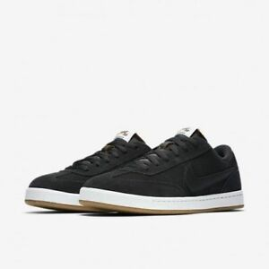 separation shoes 4ae39 4f3ad Image is loading Nike-SB-FC-Classic-909096-001-Black-White-