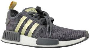 Adidas NMD R1 W Damen Sneaker Turnschuhe Schuhe weiß gold